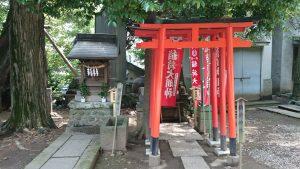 中野氷川神社 塩竃神社・稲荷神社