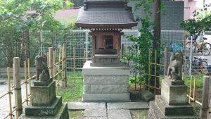 亀有香取神社 亀有香取神社 正一位浮洲稲荷大明神 社殿