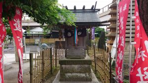 亀有香取神社 道祖神社 社殿