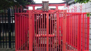 大田区矢口氷川神社 三社稲荷 (1)