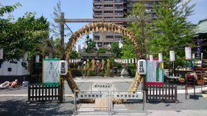 亀戸浅間神社 関東一の茅の輪