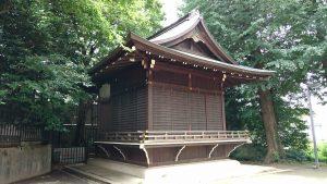 中野氷川神社 神楽殿