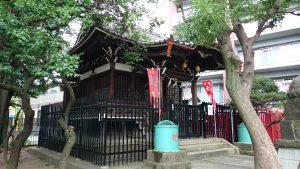 大田区矢口氷川神社 拝殿