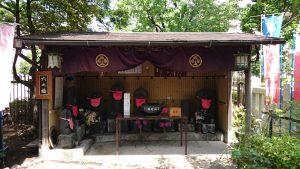 亀戸浅間神社 六ツ目地蔵小屋