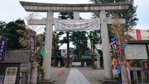 亀有香取神社 西側鳥居