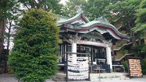 亀有香取神社 拝殿