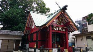 十寄神社(十騎神社) 拝殿