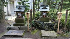 中野氷川神社 御嶽神社・北野神社