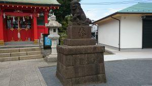 東八幡神社 狛犬 (2)