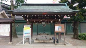 亀有香取神社 手水舎