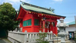 東八幡神社 拝殿