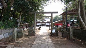 酒列磯前神社 二の鳥居