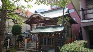 湯島御霊社 拝殿