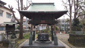 鮫洲八幡神社 手水舎