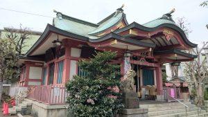 鮫洲八幡神社 拝殿
