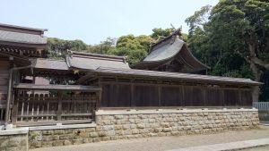 酒列磯前神社 本殿 (1)