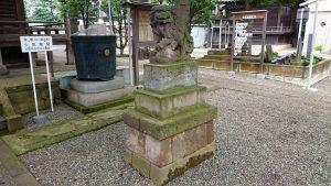 久が原東部八幡神社 狛犬 (2)