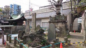 鮫洲八幡神社 富士浅間大神碑