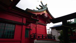 久が原西部八幡神社 本殿