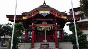 多摩川諏訪神社 拝殿