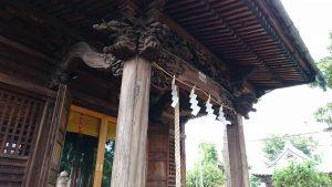 久が原東部八幡神社 彫刻