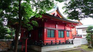 久が原西部八幡神社 社殿