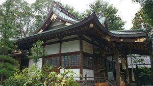 産千代稲荷神社 拝殿