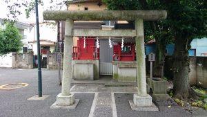 多摩川諏訪神社 境内社鳥居