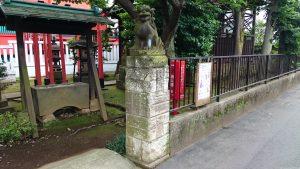久が原西部八幡神社 狛犬 (2)