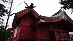 多摩川諏訪神社 本殿