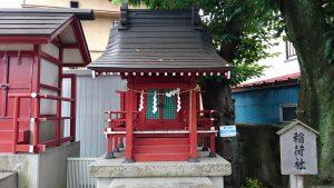 多摩川諏訪神社 稲荷社