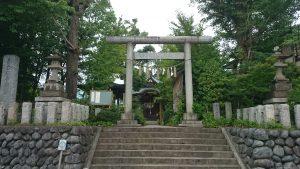 産千代稲荷神社 鳥居
