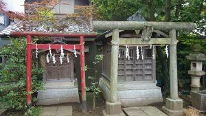 産千代稲荷神社 境内稲荷社 (1)