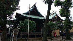 久が原東部八幡神社 社殿