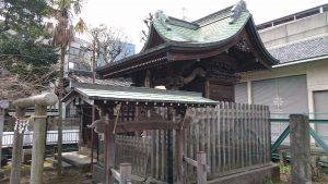 鮫洲八幡神社 漁呉玉神社(水神社)