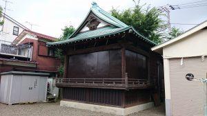 久が原東部八幡神社 神楽殿