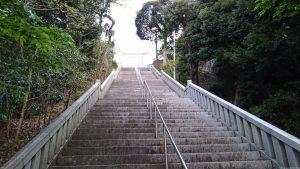 大洗磯前神社 参道石段