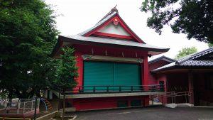 久が原西部八幡神社 神楽殿