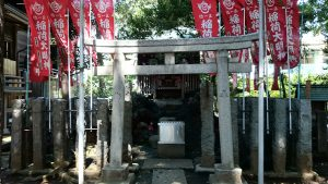 子易神社(板橋) 稲荷神社 鳥居