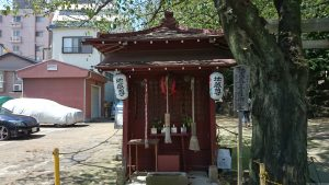 子易神社(板橋) 胸突地蔵(身代わり地蔵)