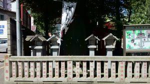 熊野神社(熊野町) 社号標
