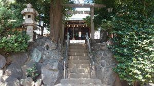 子易神社(板橋) 南側参道