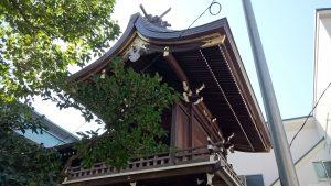 三輪里稻荷神社(こんにゃく稲荷) 本殿