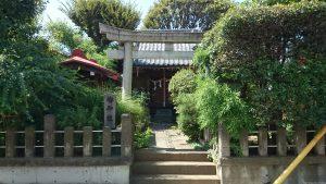 轡神社(轡権現社) 鳥居