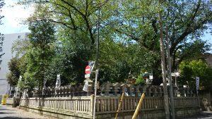 熊野神社(熊野町) 玉垣
