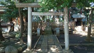 ときわ台天祖神社 榛名神社 鳥居