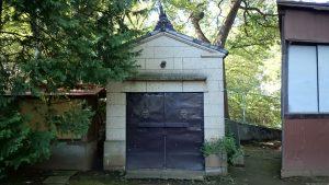 上板橋御嶽神社(桜川御嶽神社) 神輿庫