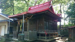 上板橋御嶽神社(桜川御嶽神社) 拝殿