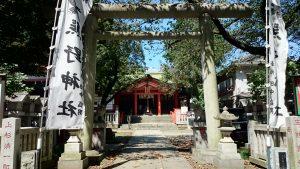 熊野神社(熊野町) 鳥居