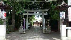 武蔵野八幡宮 鳥居